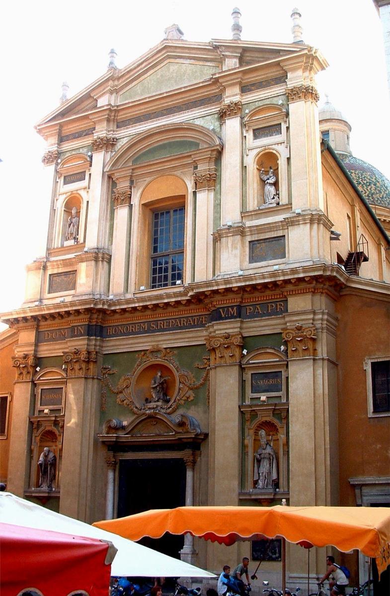 Cathédrale Ste Réparate de Nice.