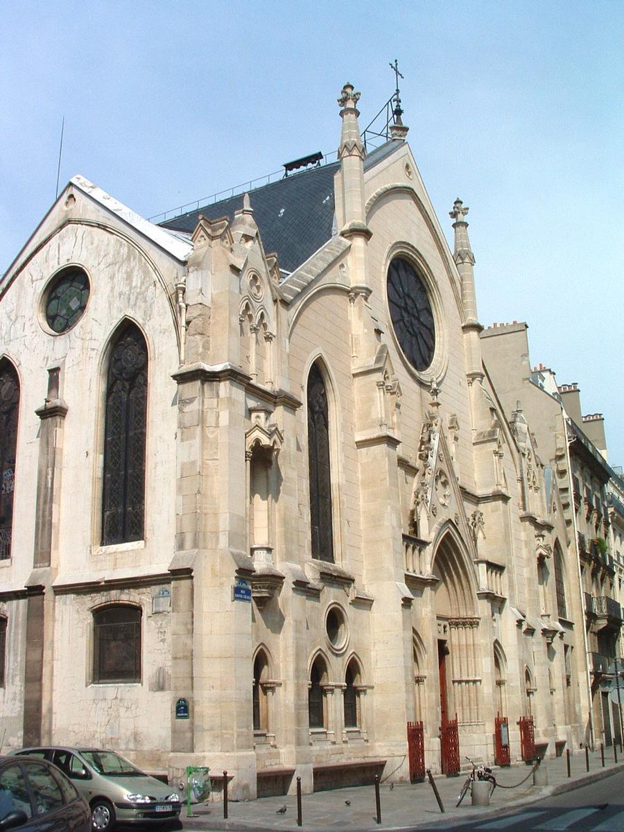 Paris IXème: Eglise St Eugène