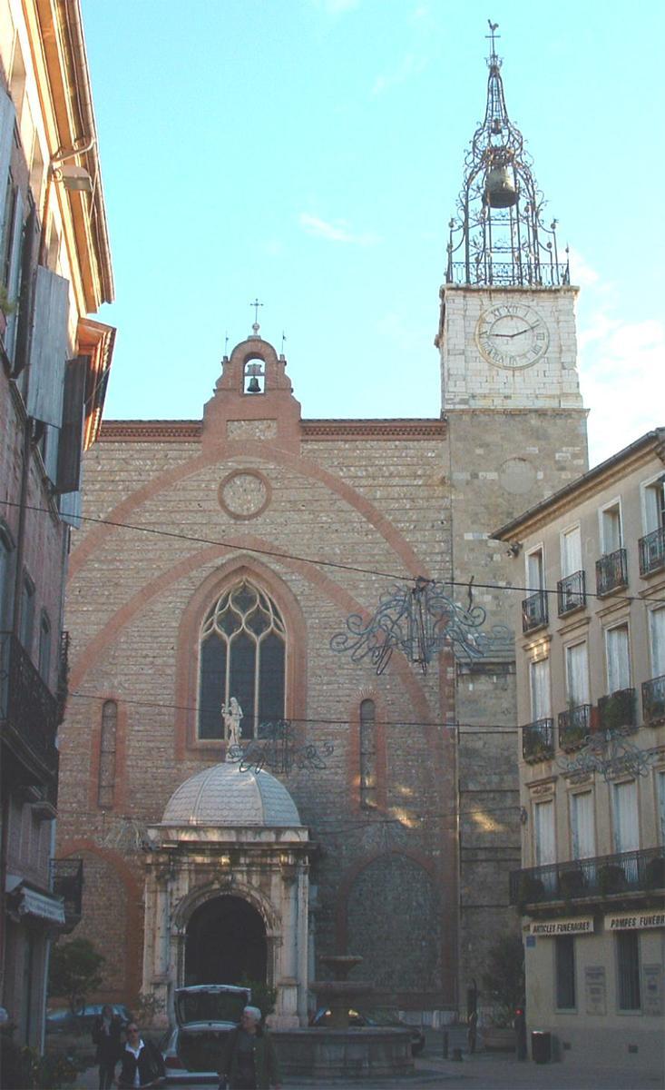 perpignan cathedral perpignan 1509 structurae. Black Bedroom Furniture Sets. Home Design Ideas