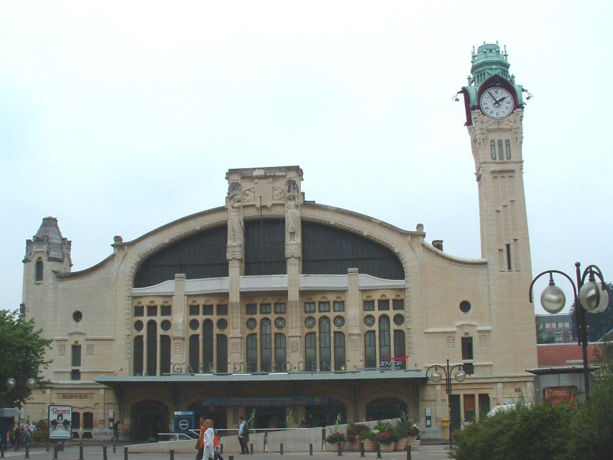 Gare SNCF de Rouen.