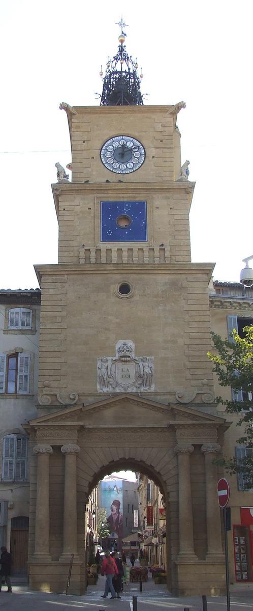 Beffroi-horloge, Salon-de-Provence
