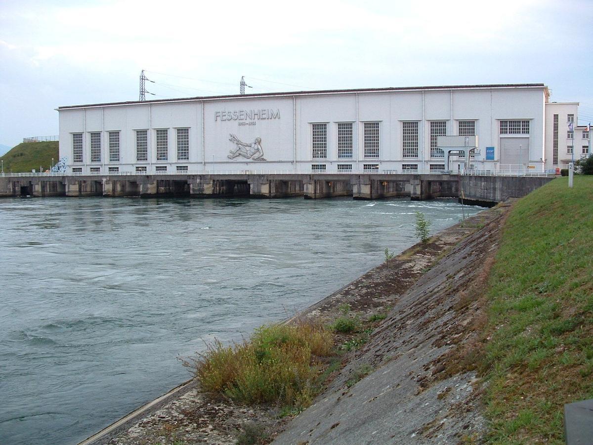 Wasserkraftwerk Fessenheim