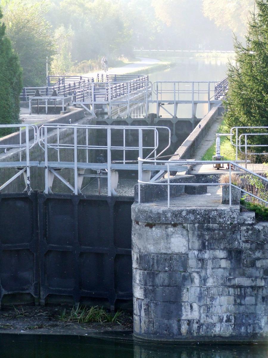 Rhone-Rhine Canal - Wolfersdorf Lock
