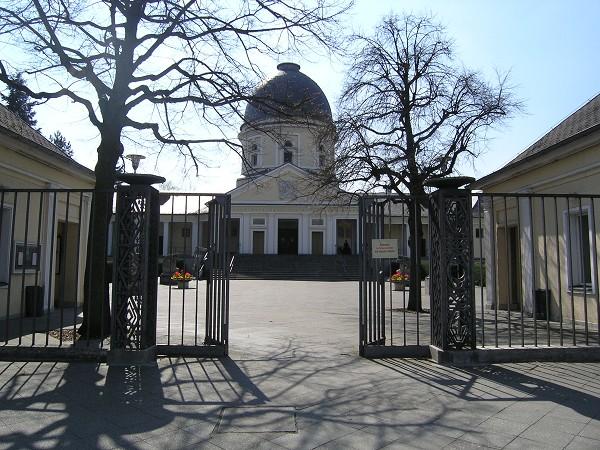 <p>Wilmersdorf Crematorium, Berlin</p>