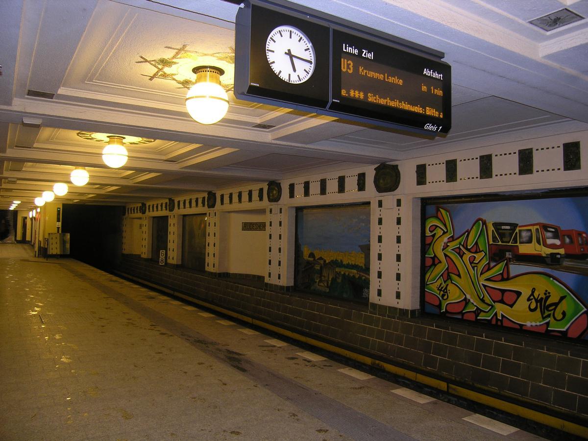 Station de métro Rüdesheimer Platz