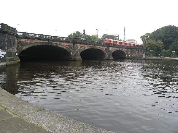 Lombardsbrücke, Hamburg