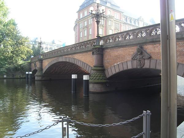 Heiligengeistbrücke, Hambourg