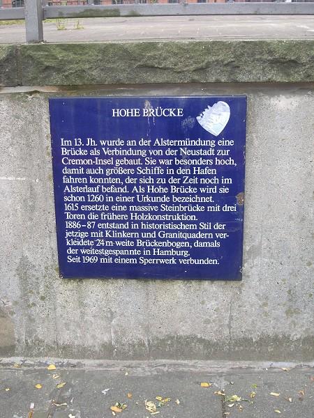 Hohe Brücke, Hamburg