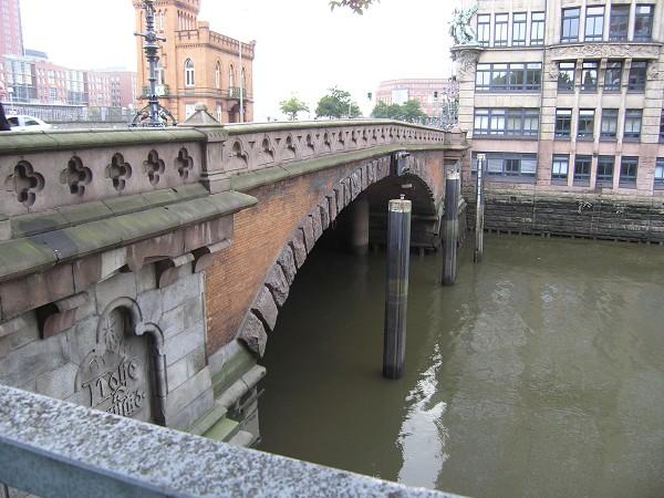 Hohe Brücke, Hambourg