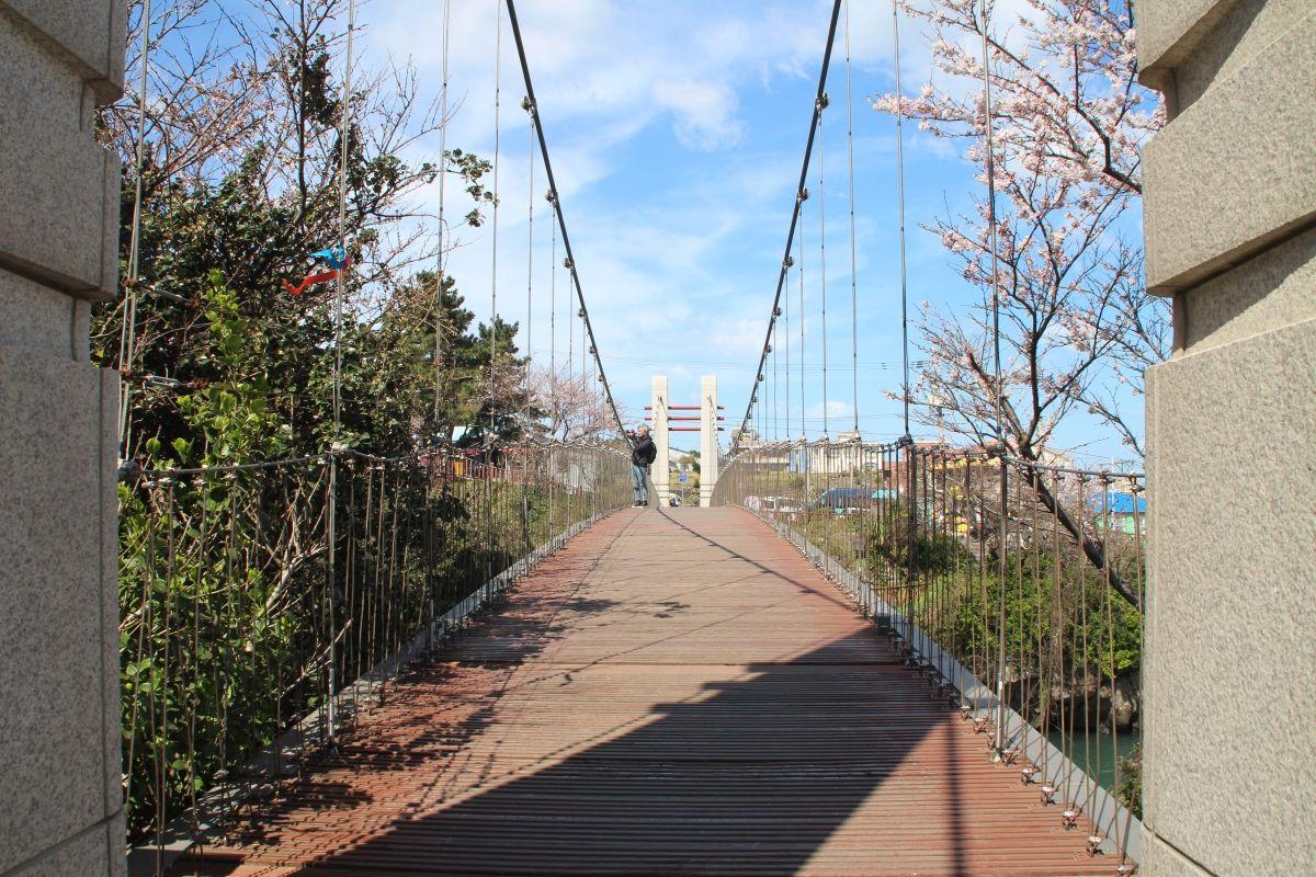 Yongyeon-Hängebrücke