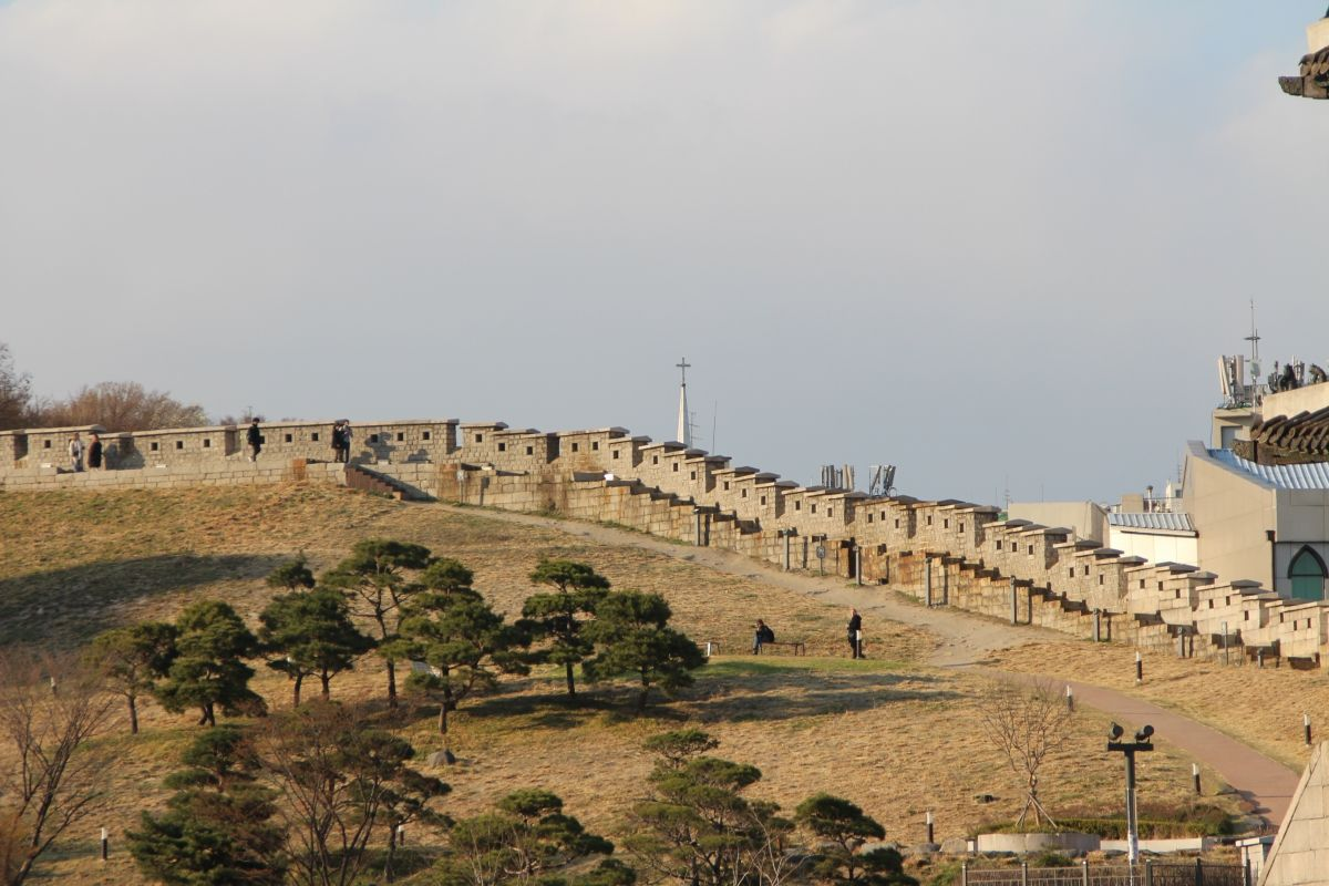 Muraille de Séoul
