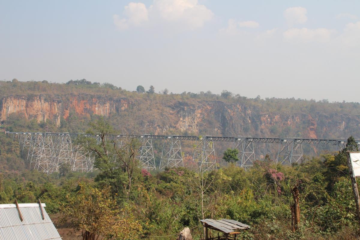 Viaduc de Goteik