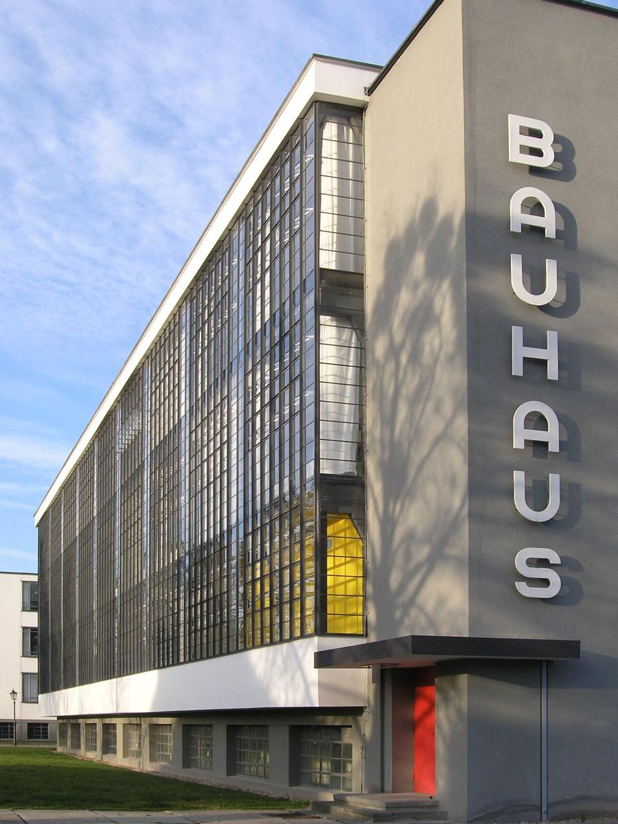 Bauhaus Dessau Dessau Rosslau 1926 Structurae