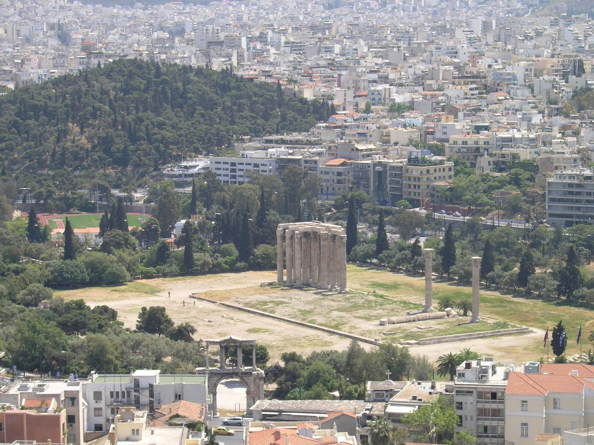Temple of Zeus Olympios, Athens