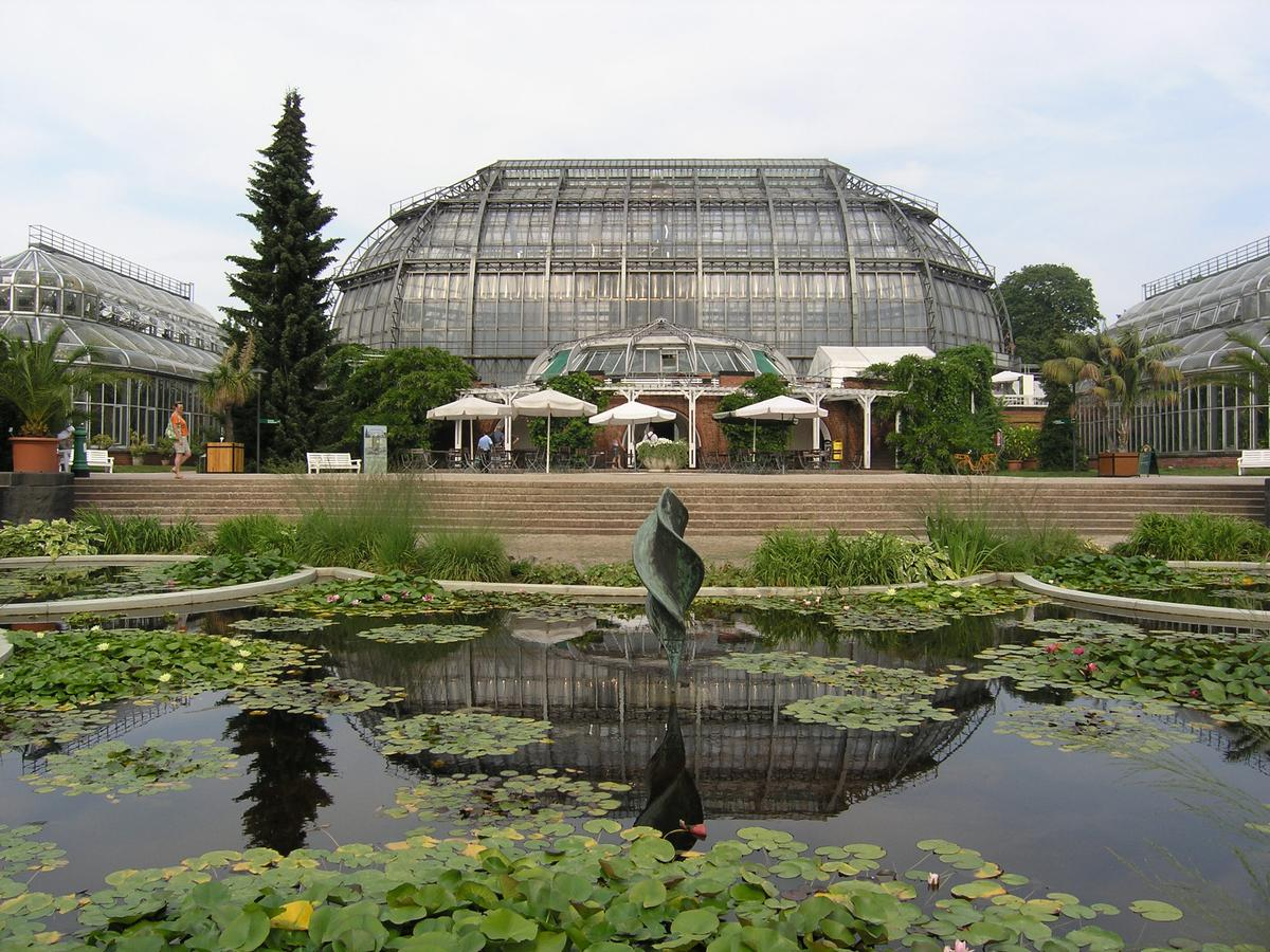 Berlin Botanical Gardens Great Tropical Green House