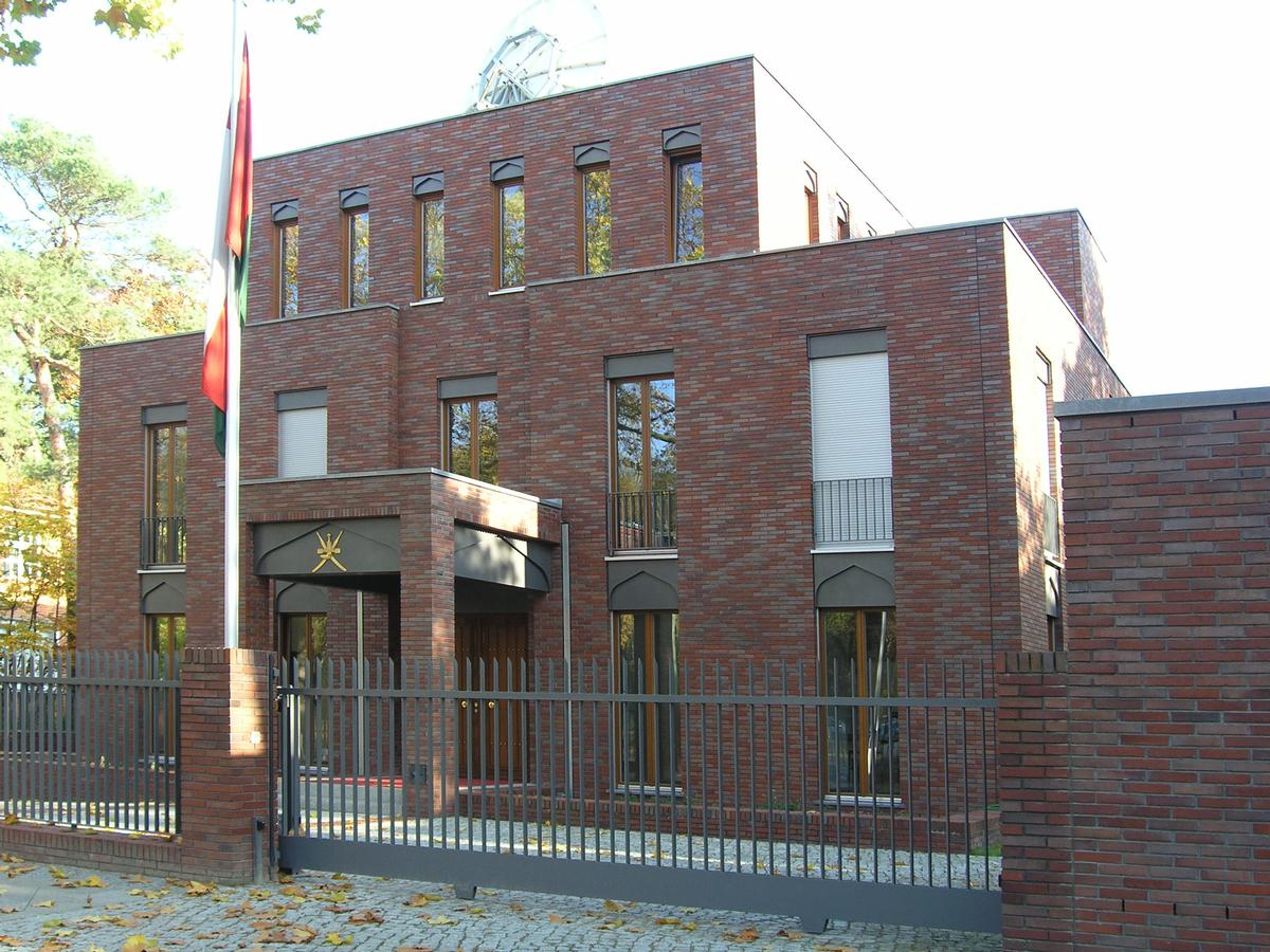 Embassy of Oman in Berlin.