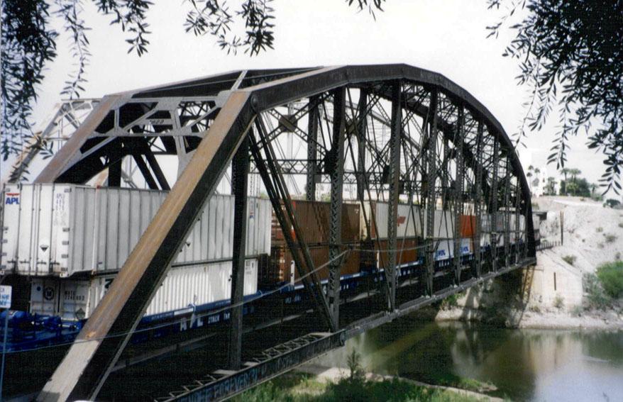Yuma Crossing Railraod Bridge