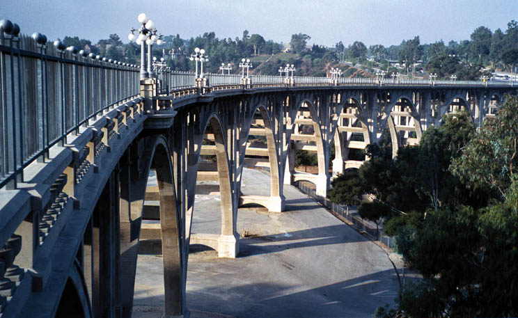 Colorado Street Bridge, Pasadena, California.