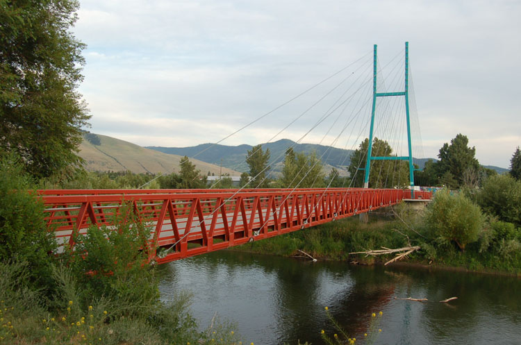 California Street Pedestrian Bridge (Missoula)