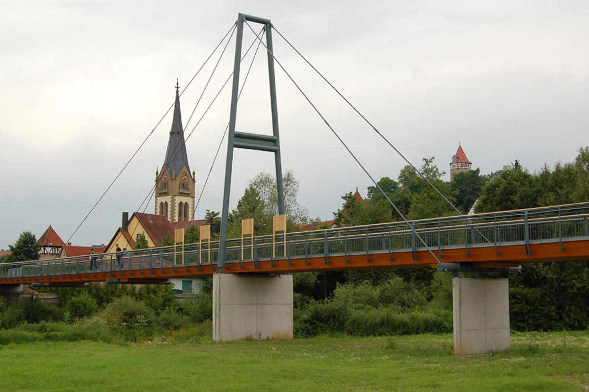 Möckmühl Jagst Footbridge