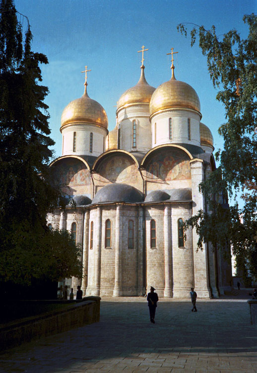 Uspenski-Kathedrale, Kreml, Moskau