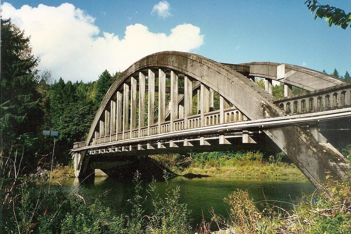 North Hamma Hamma River Bridge