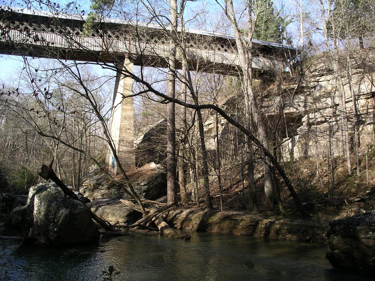 Horton's Mill Covered Bridge Oneonta, Alabama USA