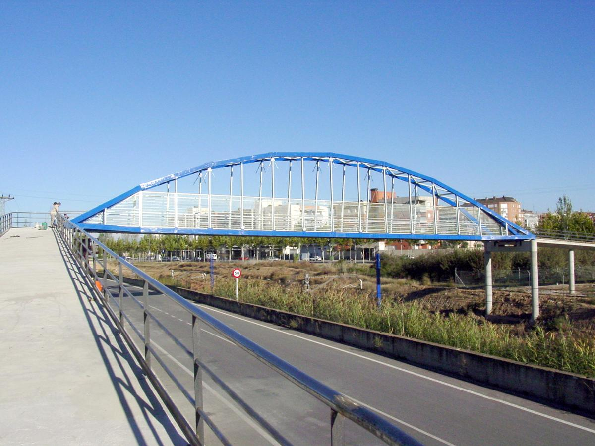 Fußgängerbrücke Lleida