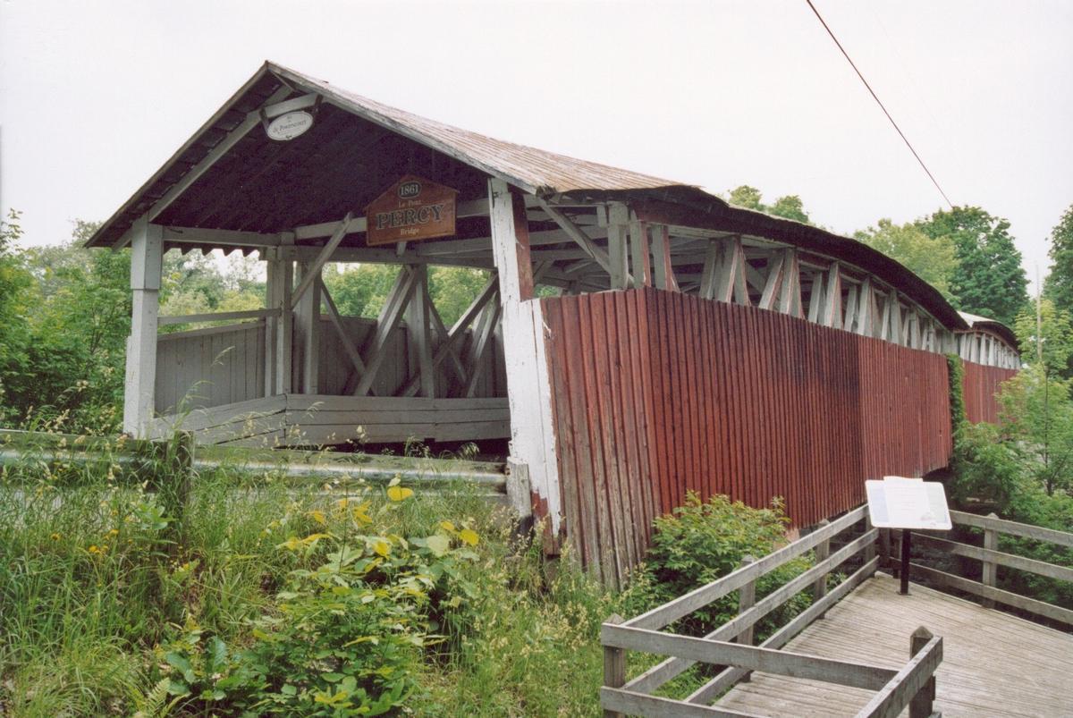Pont Percy, Hinchinbrooke, Québec, Canada
