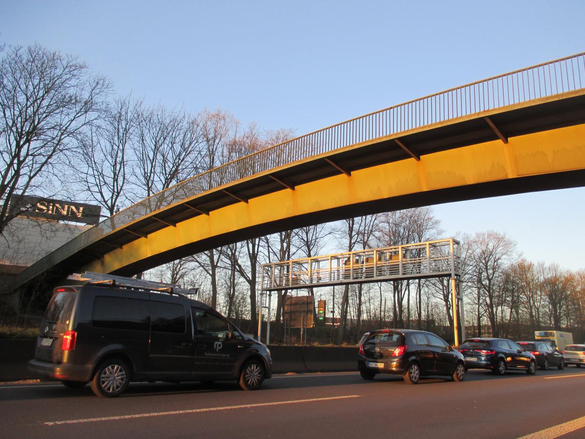 Passerelle du Ruhrpark