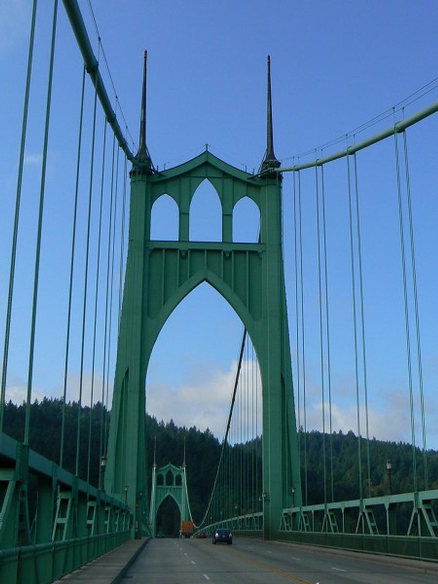 Saint Johns Bridge (Willamette River)