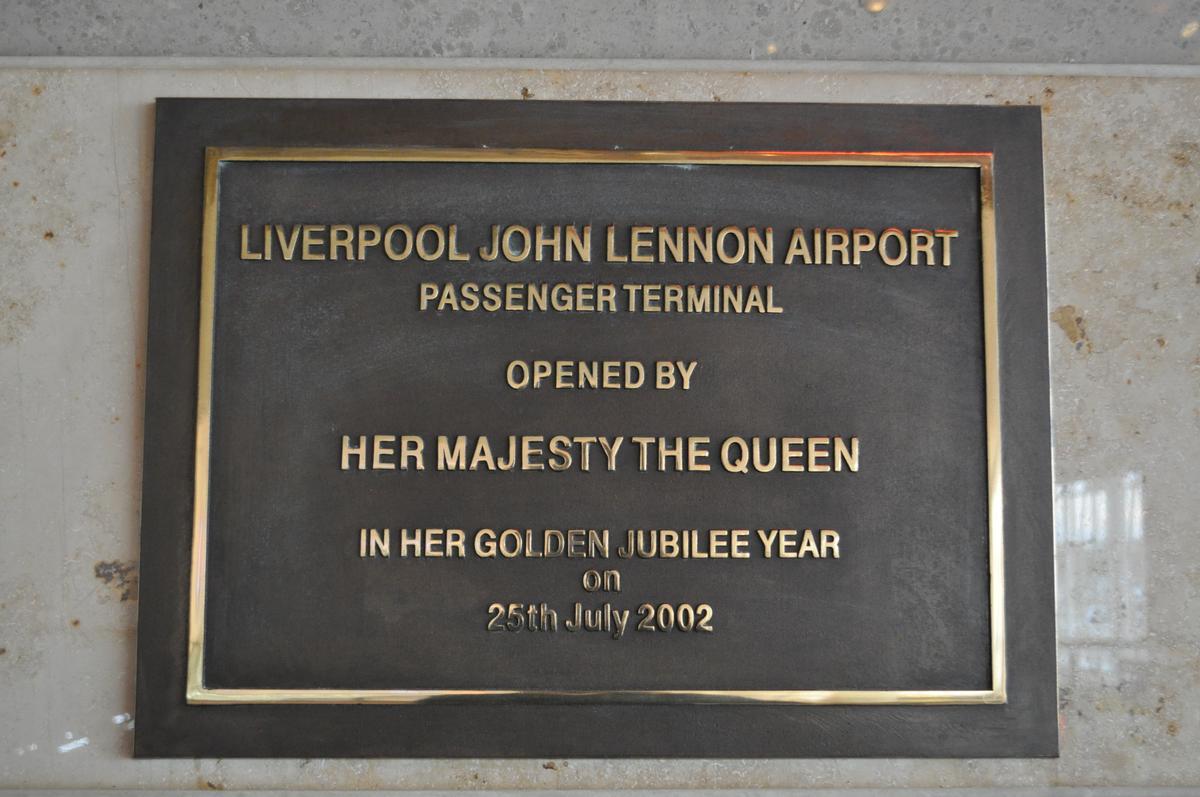 Liverpool John Lennon Airport Terminal Building