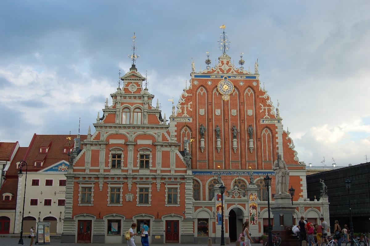 Maison de la Confrérie des Têtes Noires, Riga