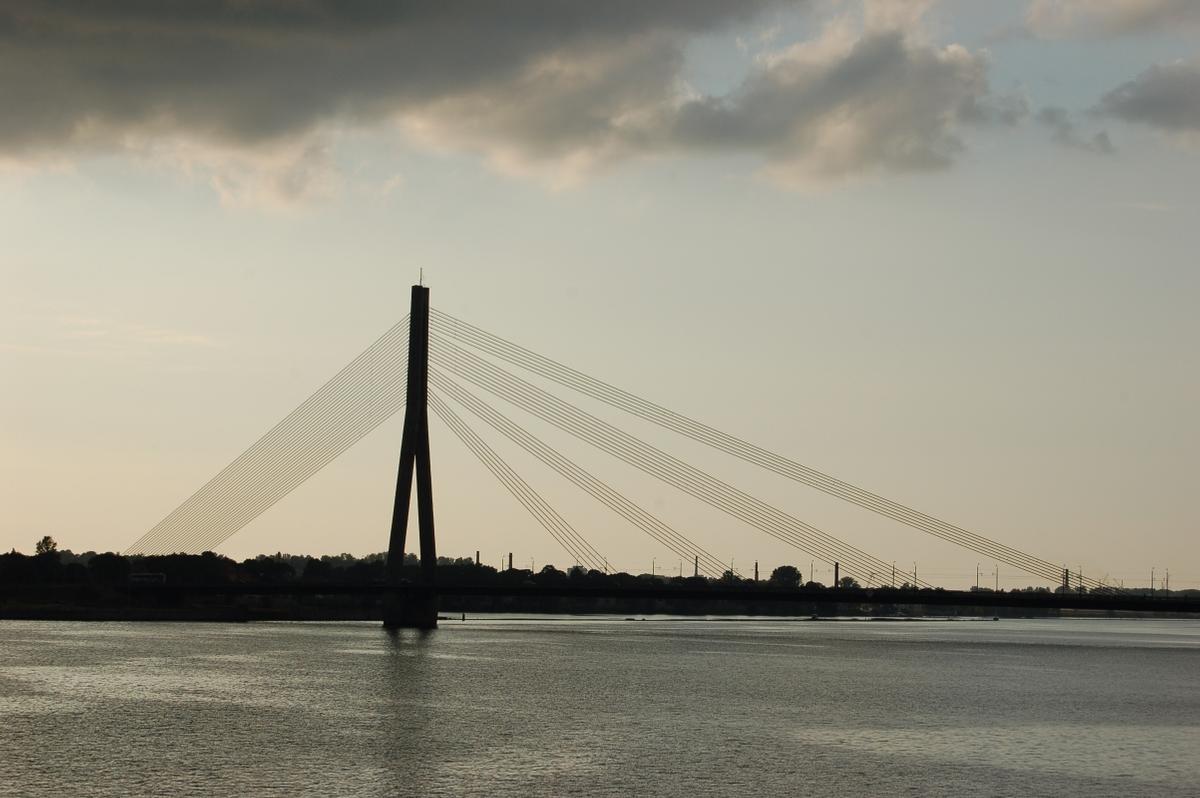 Riga cable-stayed bridge