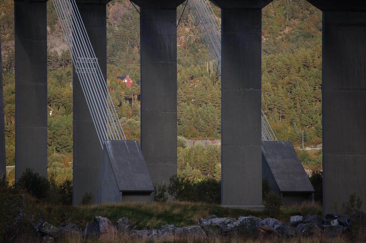 Gjemnessundbrua, Møre og Romsdal, Norwegen