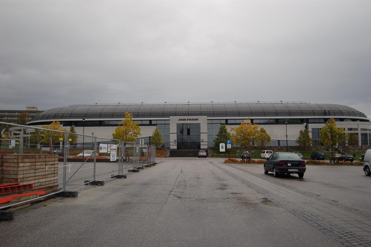 Aker Stadion, Molde, Møre og Romsdal, Norwegen