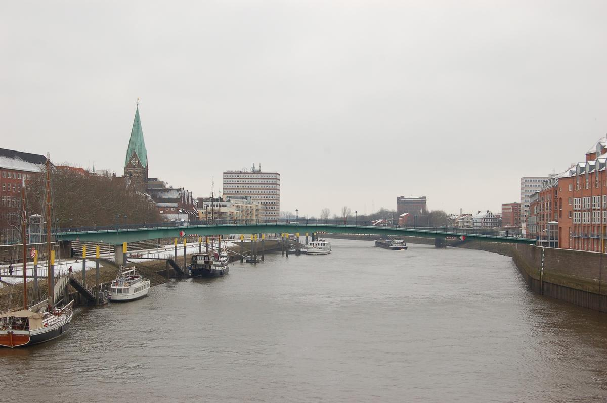 Teerhof Bridge (Bremen, 1993)