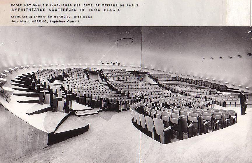 Underground Amphitheater of the Ecole Nationale d'Ingénieurs des Arts et Métiers