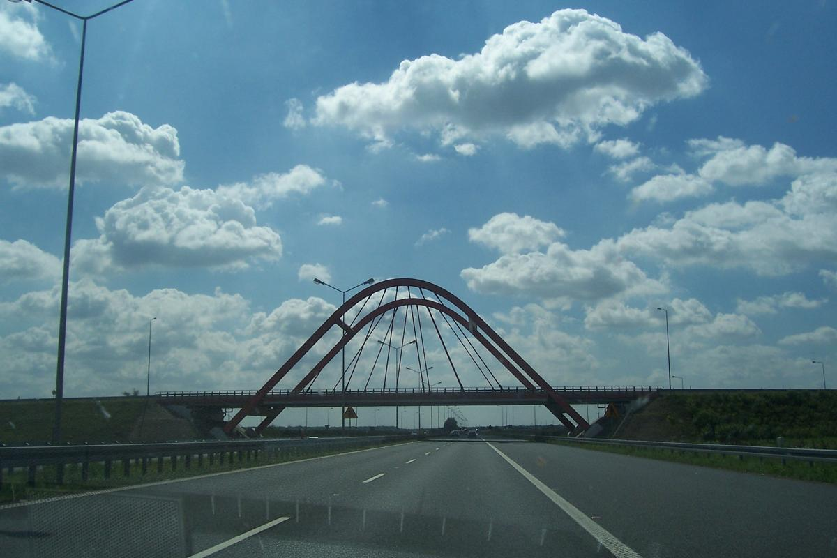 Luk Gdanski Bridge, Poland