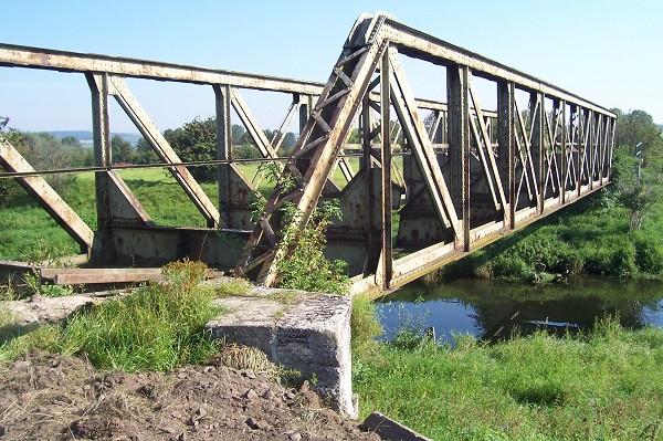 Kleinbahnbrücke Bollstedt, Mühlhausen, Thüringen