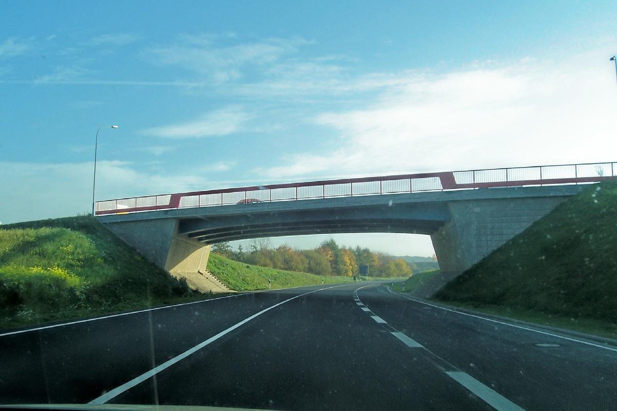 Pont de la L2042 sur la B 247 à Leinefelde, Thuringue