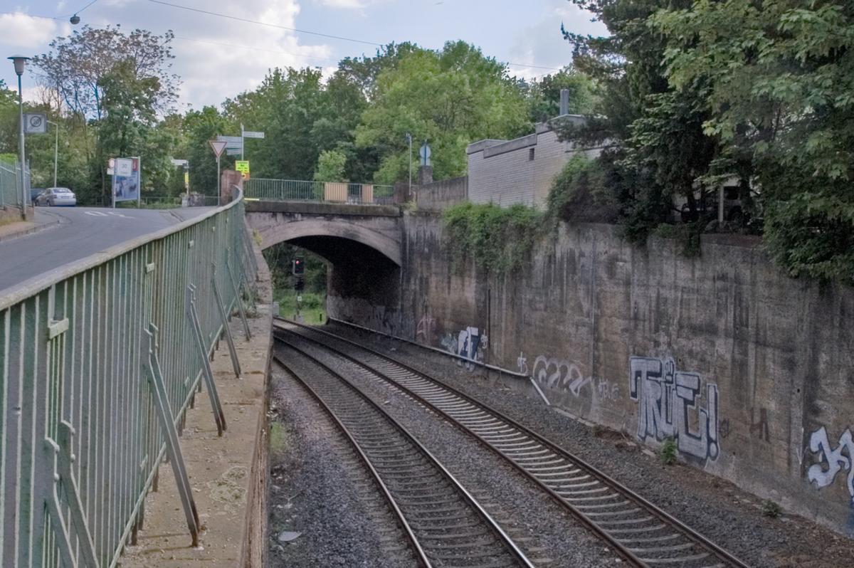 Brücke Dieburger Straße, Odenwaldbahn Darmstadt