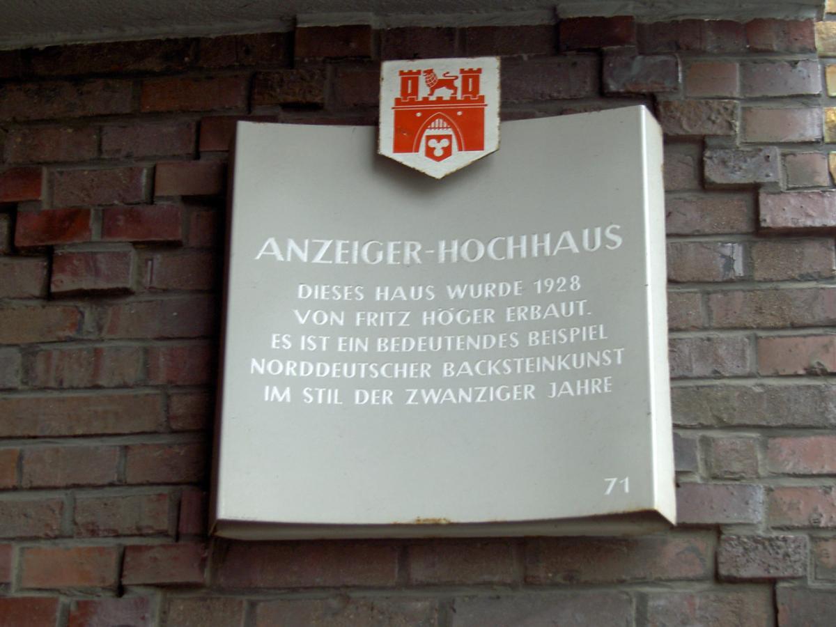 Anzeigerhochhaus, Hanover