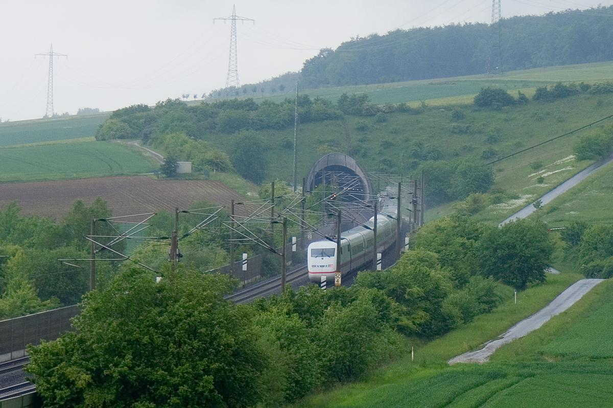 Riesberg Tunnel, High-speed Rail Line Hanover-Würzburg