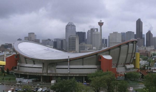 Saddledome Calgary 1983 Structurae