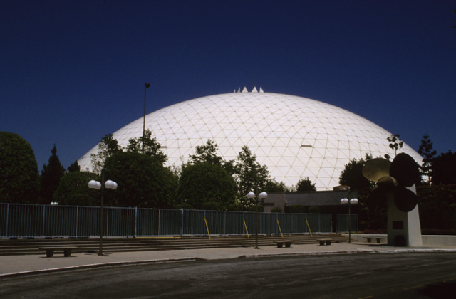 Spruce Goose Hangar Dome Long Beach 1982 Structurae