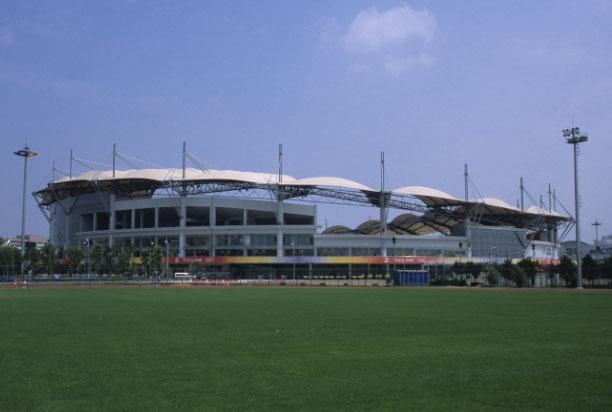 Stadion des Olympischen Sportzentrums Qinhuangdao