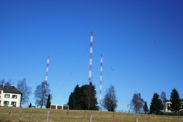 Day Aerial Transmission Masts at Marnach