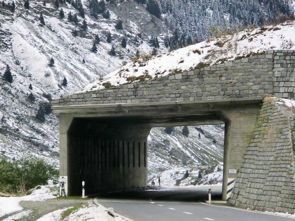 Valetta Tunnel southern portal