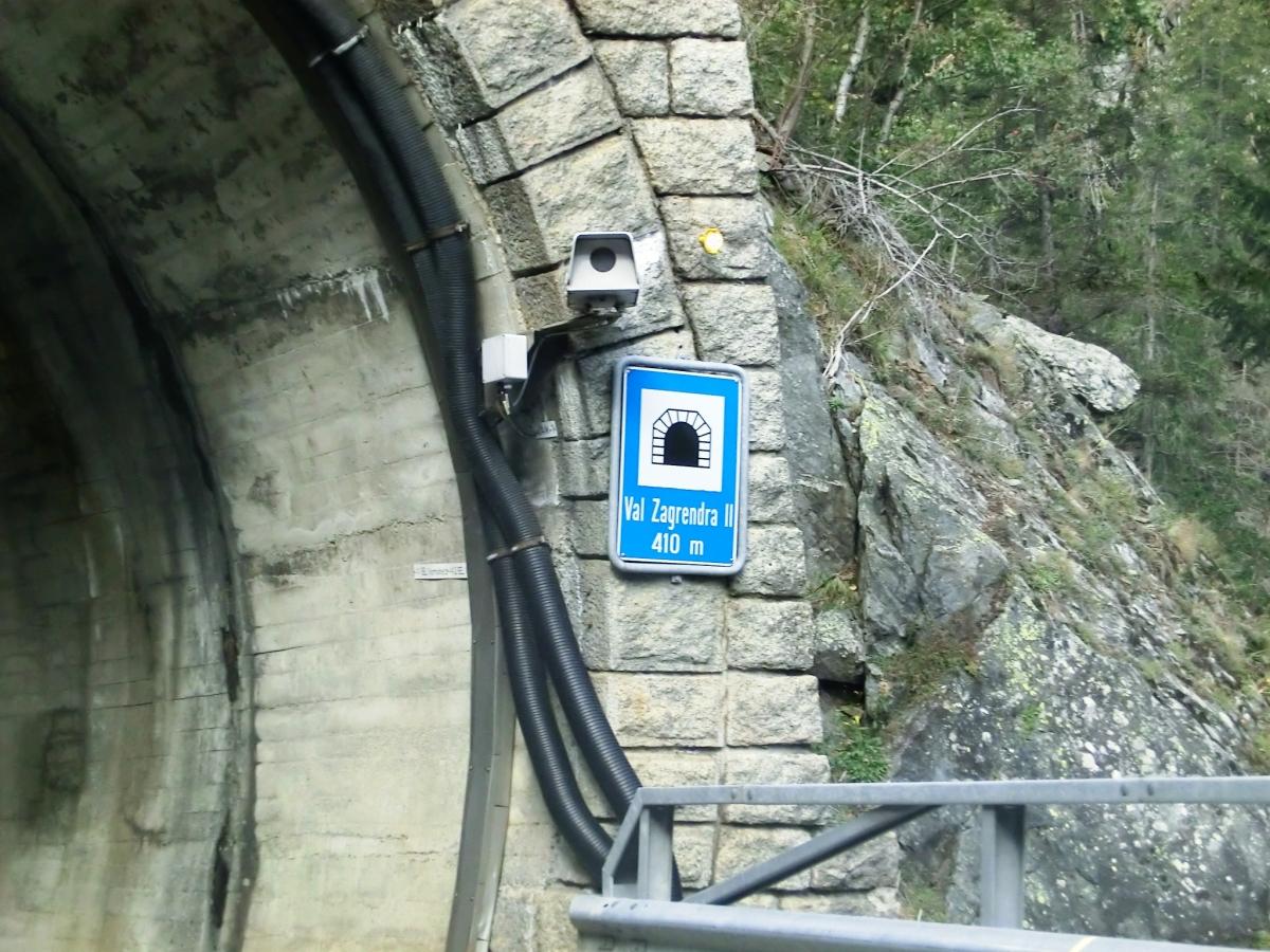 Val Zagrenda-Las Ruinas Tunnel southern portal